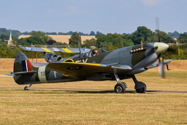Supermarine Spitfire LF.IXe by Daniel-Wales-Images