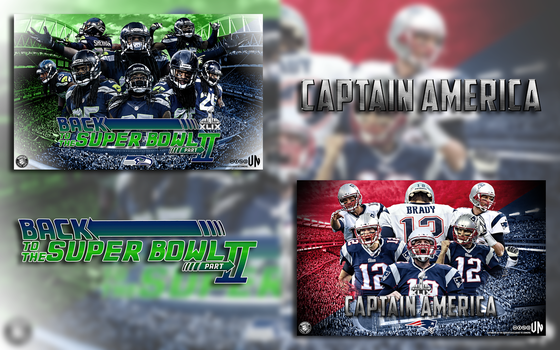 #SuperBowlXLIX Wallpaper pack by vndesign