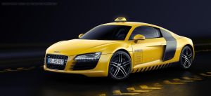 Audi R8 Race Taxi by MUCK-ONE