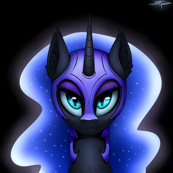 [COMMISSION] Nightmare Moon by Setharu