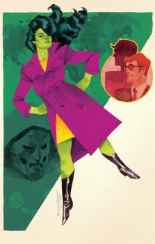 She-Hulk Issue #4 by kevinwada