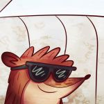 Rigby Is So Cool by DirtySeagulls