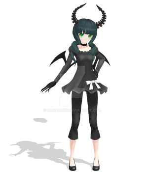 Api Dead Master - MMD Model by magrao121