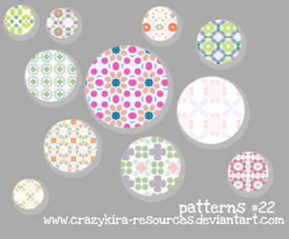 Patterns .22 by crazykira-resources