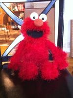 Crocheted Elmo by aphid777