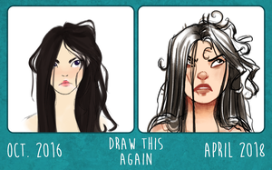Draw This Again: Bad Hair Day by SachiiA