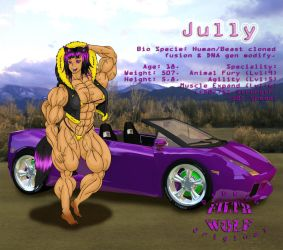 Jully Color by WolfsMuscleGirls