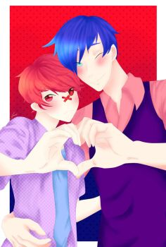 Fukase and Kaito by RioTheKittyer