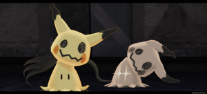 Mmd Pokemon Sun Moon: Mimikyu DL by kaahgomedl