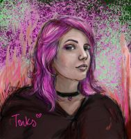 Tonks by amberfishy