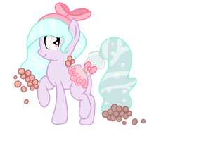 .:CLOSED:. RARE Bubble Tea HoloCoffee Pony by Angel-Coffee