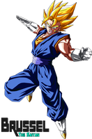 Super Vegetto by BrusselTheSaiyan