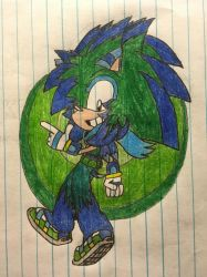 Spike The Hedgehog Sonic Channel Circle Fail by Pickles-of-Destiny