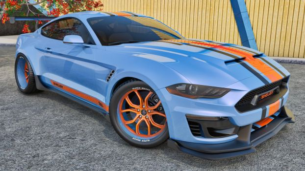 2018 Ford Mustang Shelby Super Snake Concept by SamCurry