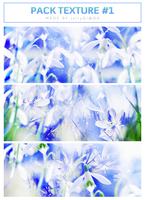 [ PACK TEXURE #1 ]  BLUE . by Zoeyiee