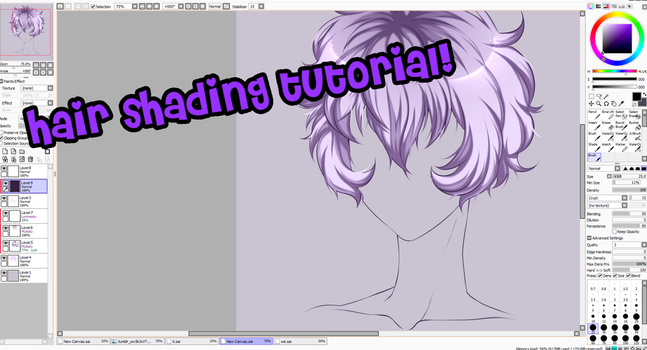 Gomi's Crappy Hair Tutorial (VIDEO) by GomiCake