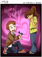 Valentines Day 2015 - ILML Comic #78 by LilBruno