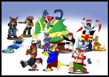 -G- Christmas 10 part 1 by wolfcub
