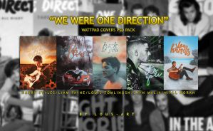 WE WERE ONE DIRECTION (Wattpad Covers PSD Pack) by lous-art
