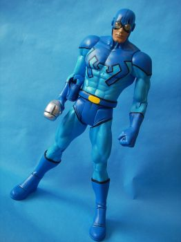 Custom 12 inch Blue Beetle by cusT0M