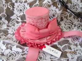 Pink Princess Mini hat by Ayumi146