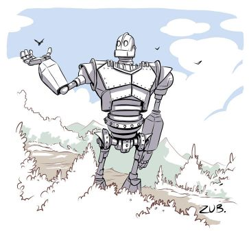 Iron Giant Commemorative by Zubby