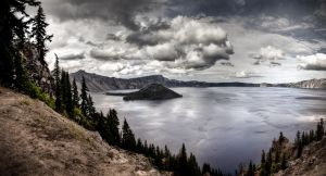 Crater Lake by augustmobius