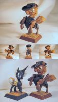 Table-Top Miniature:Calamity(Fallout Equestria) by NPCtendo