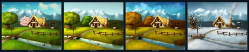 4 Seasons - Collection by geci