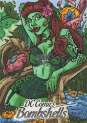Poison Ivy by dino-damage
