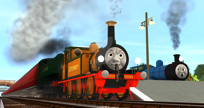 'They Wizzed Through Edward's Station...' by Nictrain123