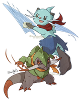 PMD - Fraxure and Dewott