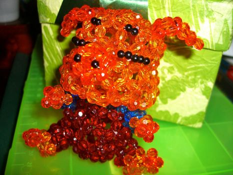 Biggy Piggy Crystal Beads by Tamiake