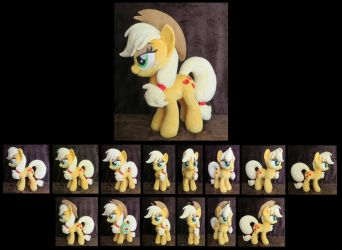 Applejack - New Pattern! by fireflytwinkletoes