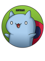 Catbug Pin by BrittanysDesigns