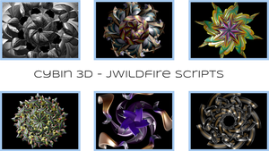 Cybin3D - JWildfire Scripts by audiomonk