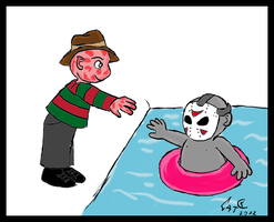 Freddy i Jason by VincentSharpe