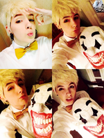 Jackpot (Block B) Cosplay Test WIP by fadingforest