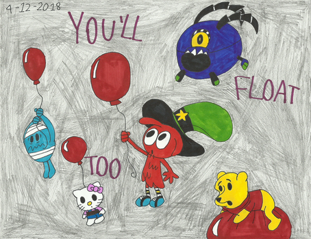 Xovers - You'll Float Too by worldofcaitlyn