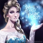 Greetings from Queen Elsa by TheCharismaPandaXD