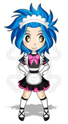 Chibi Maid Levy by ZombieGirl01