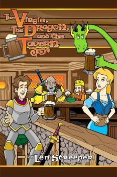 The Virgin, The Dragon, and the Tavern cover art by Mattleong13