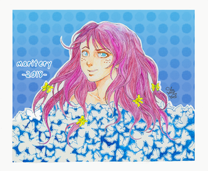 :: Butterfly Girl :: Finished by maritery-san