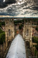 Yorkminster from the top by Yupa
