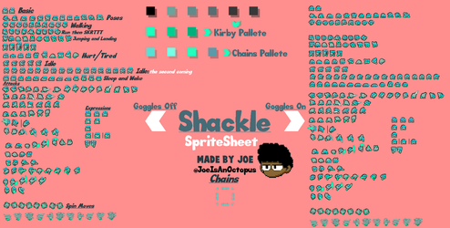 Shackle Completed Sheet (For Now) by JustJoeO