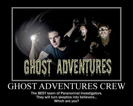 Ghost Adventures Crew by airbender01