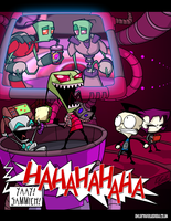 Invader Zim by TheVirusAJG