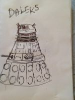 DALEKS by wingedmusician