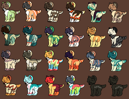 Canine adopts OTA (3/24 Open) by HimeAdoptions