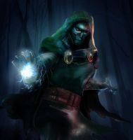 Doctor Doom| Youtube Speedpaint by Kyber02